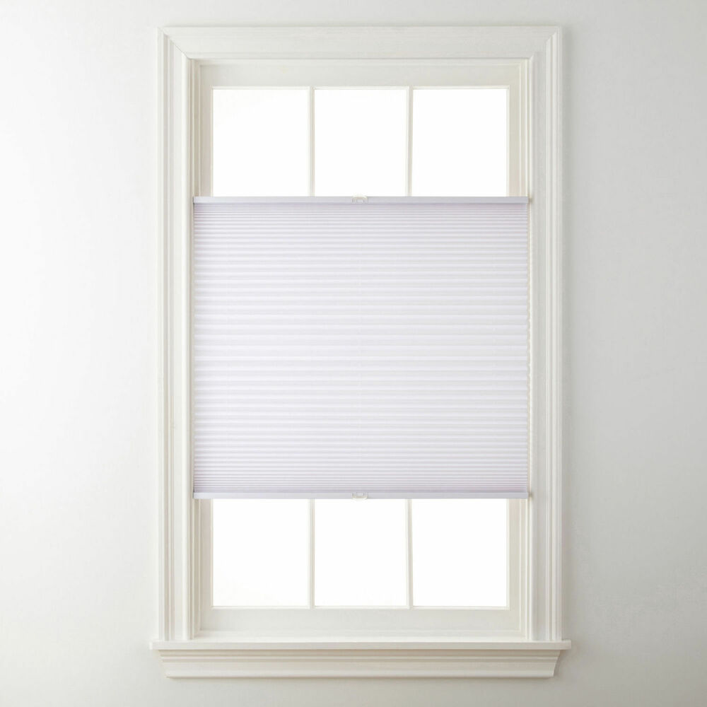 top down bottom up cordless pleated shades 4 colors ebay. Black Bedroom Furniture Sets. Home Design Ideas