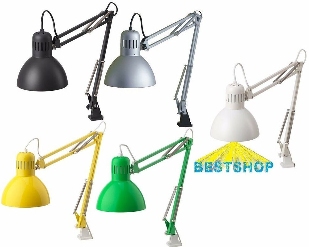 NEW IKEA TERTIAL TABLE WORK LAMP,DESK LAMP ARM AND HEAD ...