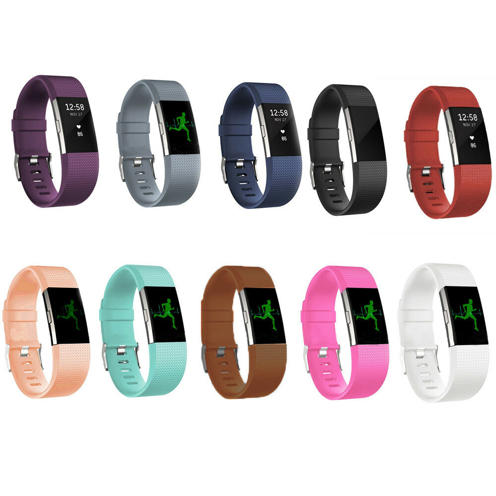 Replacement Silicone Rubber Band Strap Wristband Bracelet ...