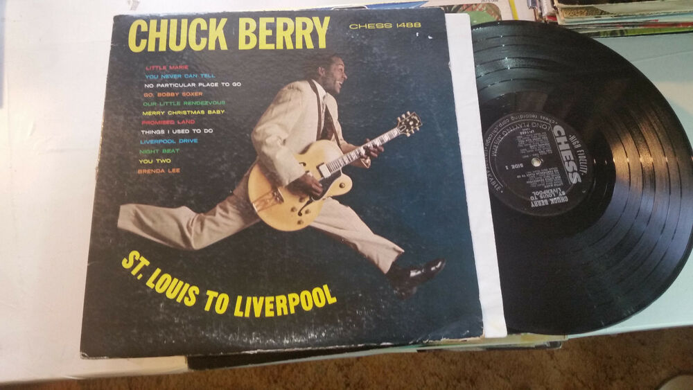 Chuck Berry St Louis To Liverpool Chess Lp 1488 Mono 1964