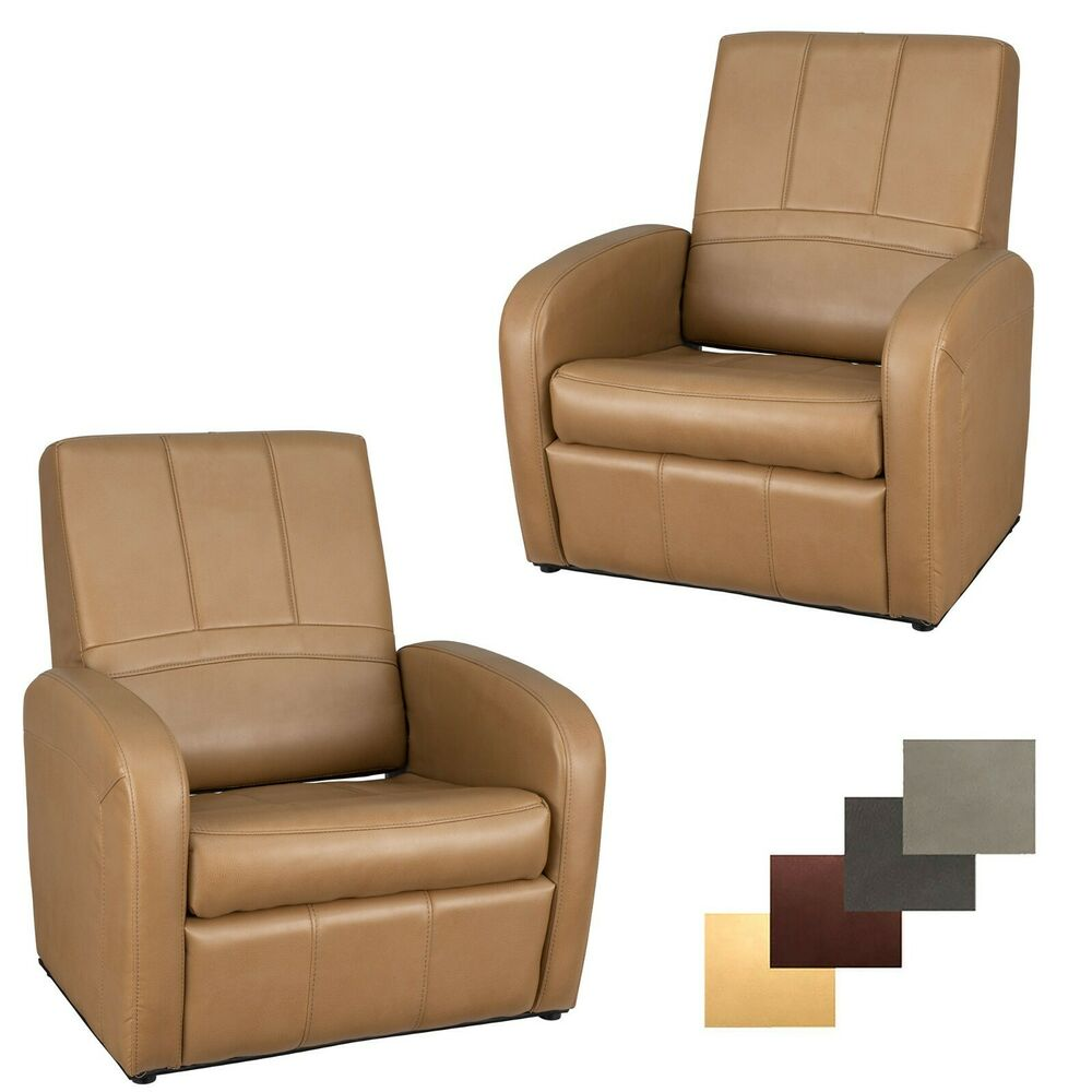 Details about 2 recpro charles rv gaming chair ottoman w storage toffee