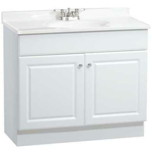 bathroom vanity cabinets white rsi richmond 36 quot white bathroom vanity cabinet w two 11803