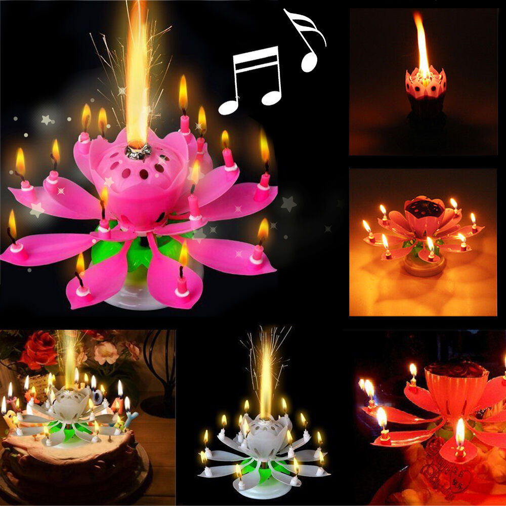 Birthday Cake Musical Candle