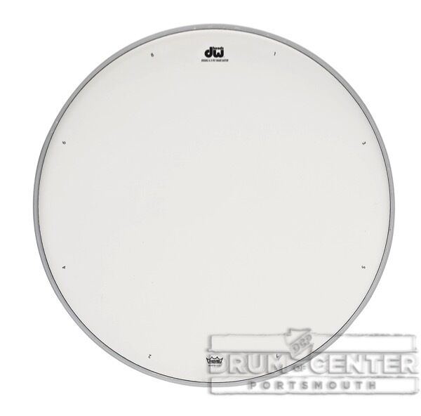 dw tom heads 12 inch double a coated snare drum head drdhacw12 647139287133 ebay. Black Bedroom Furniture Sets. Home Design Ideas
