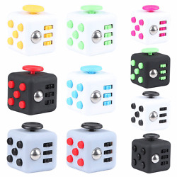 Kyпить Fidget Toy Cube Stress Anxiety Relief Desk Toy EDC 6 Sided For Adults Kids Focus на еВаy.соm