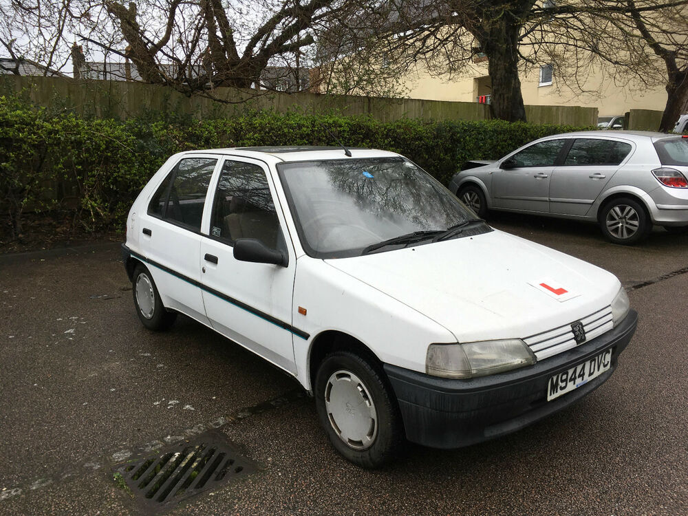 1994 peugeot 106 xr white 1 4 no reserve ebay. Black Bedroom Furniture Sets. Home Design Ideas