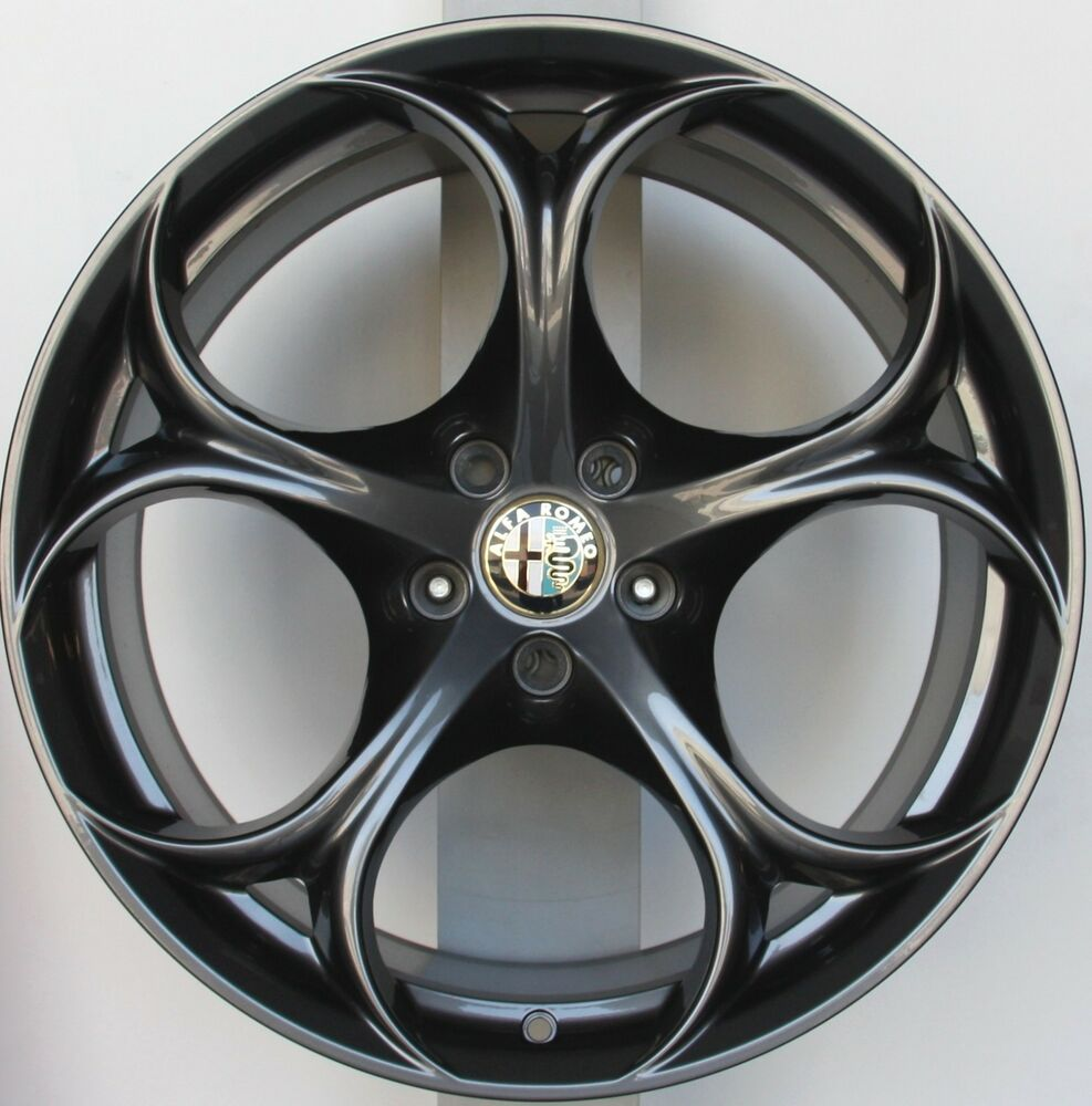 alfa romeo giulia quadrifoglio verde wheels 19 original new rims 156112959 ebay. Black Bedroom Furniture Sets. Home Design Ideas