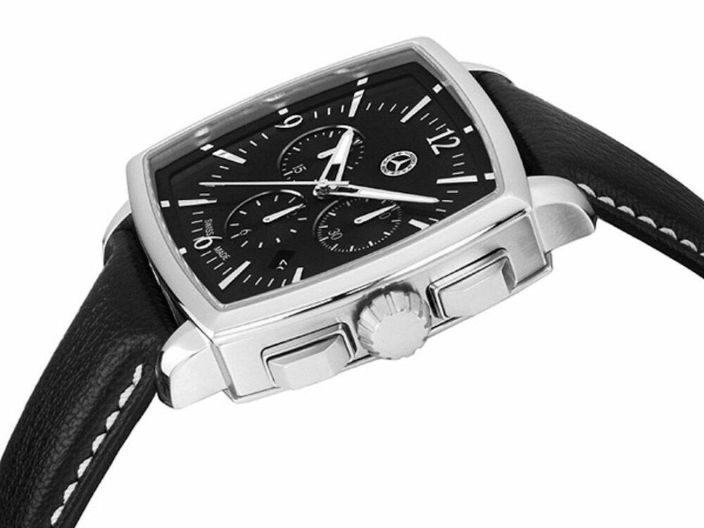 Genuine mercedes benz mens carre chronograph watch 2017 for Mercedes benz gifts