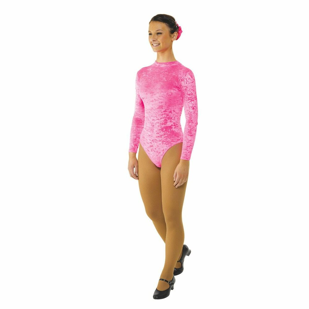 Details about DANCE   GYMNASTICS VELVET LONG SLEEVED TURTLE NECK LEOTARD IN  (7 COLOURS) 9ece89d6248