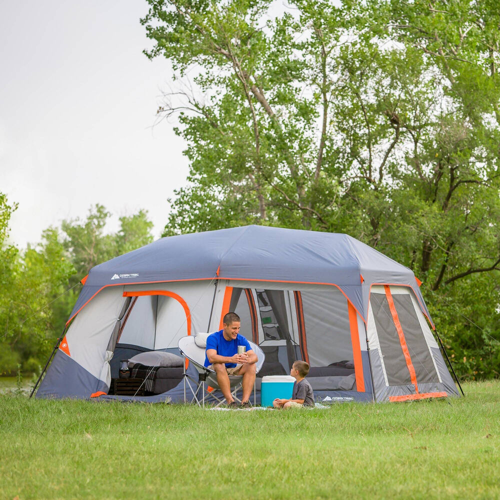 Instant Cabin Tent 10 Person Outdoor Camping Family ...