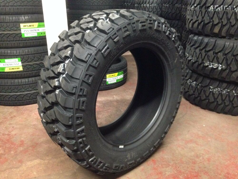 4 New 305 55 20 Mickey Thompson Baja Mtz P3 R20 55r Mud Tires 33 Quot Made In Usa Ebay