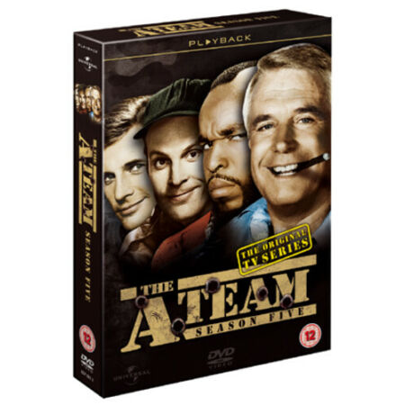 img-The A-Team: Series 5 DVD (2010) George Peppard cert 12 4 discs ***NEW***
