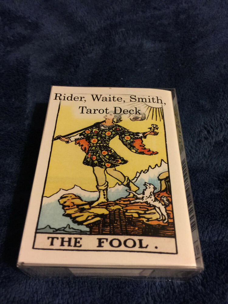 Tarot X The Wheel Of Fortune: Rider Waite Smith Tarot Cards Deck 78 Cards Poker Size