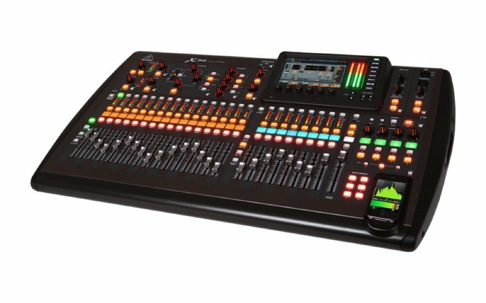 behringer x32 32 channel digital mixing board with effects eq ebay. Black Bedroom Furniture Sets. Home Design Ideas
