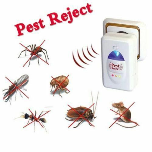 Pest reject mice spider insect ultrasonic control pest for Pest reject opiniones