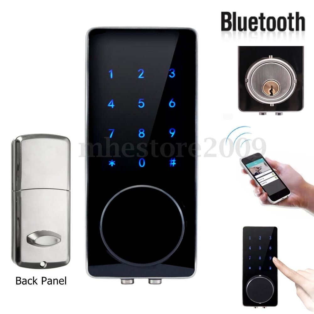Electronic bluetooth smartcode digital door lock keyless for 1 touch fingerprint door lock