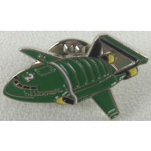 Gerry Anderson THUNDERBIRDS Model #2 - British TV Series UK Imported Enamel Pin