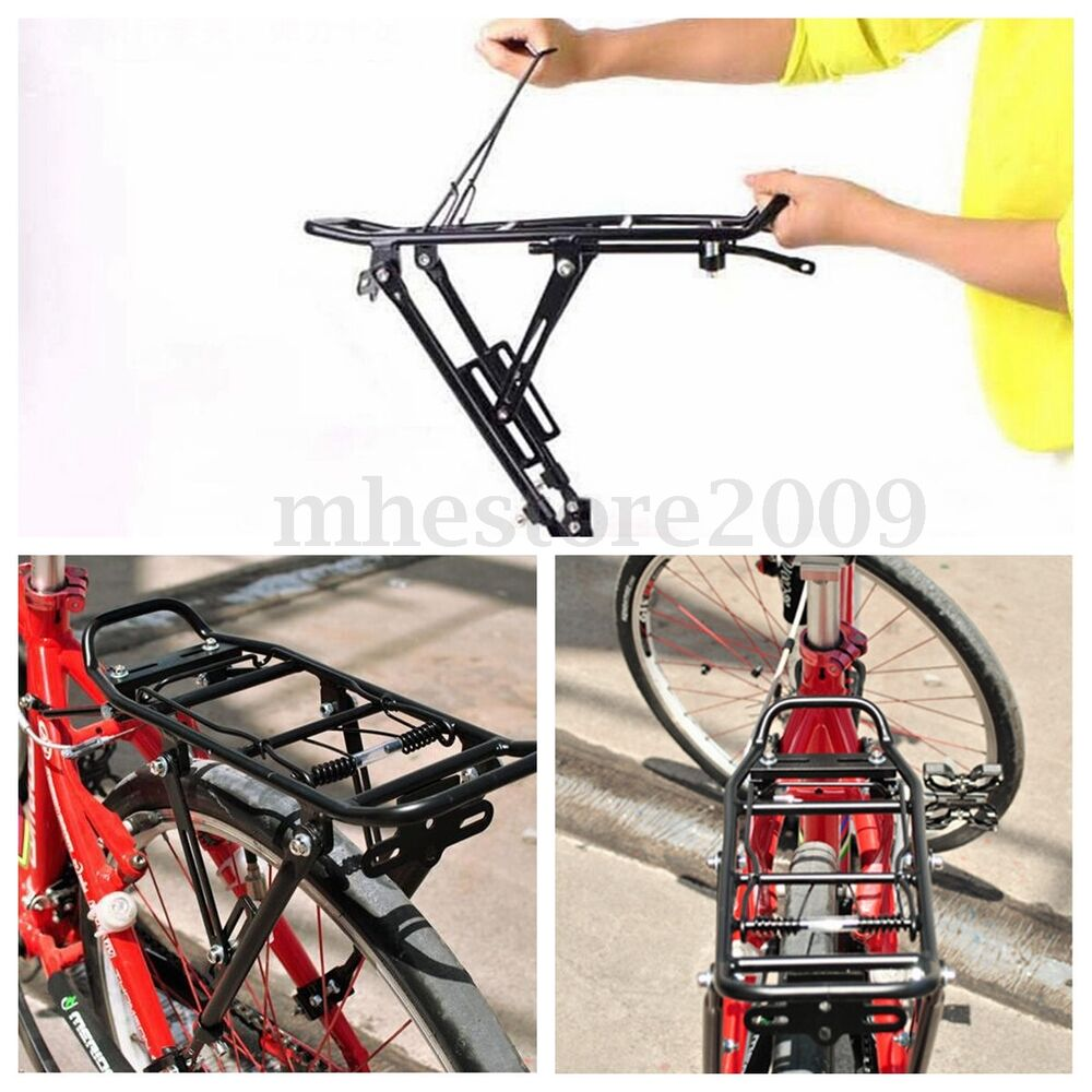Bicycle Mountain Bike Luggage Seat Post Pannier Carrier