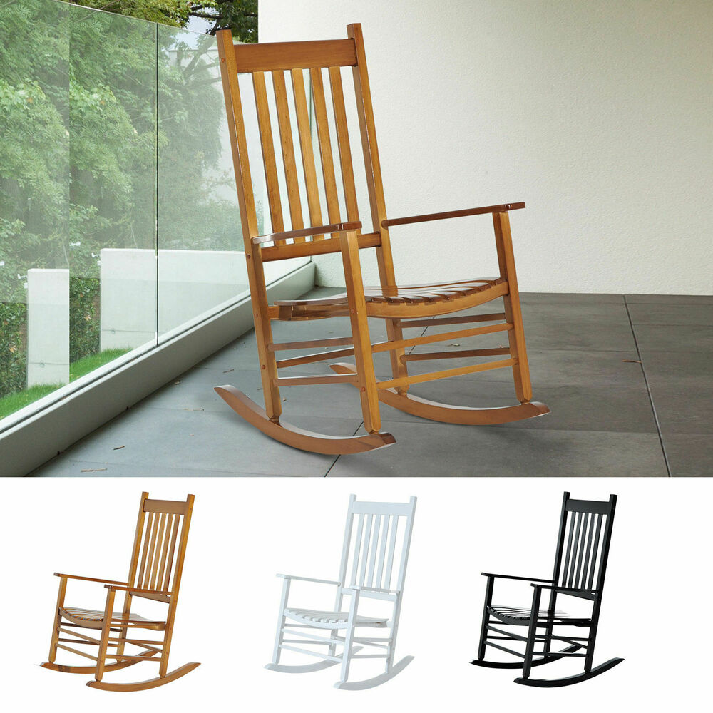 rocking chair living room wooden rocking chair porch rocker balcony deck outdoor 13973