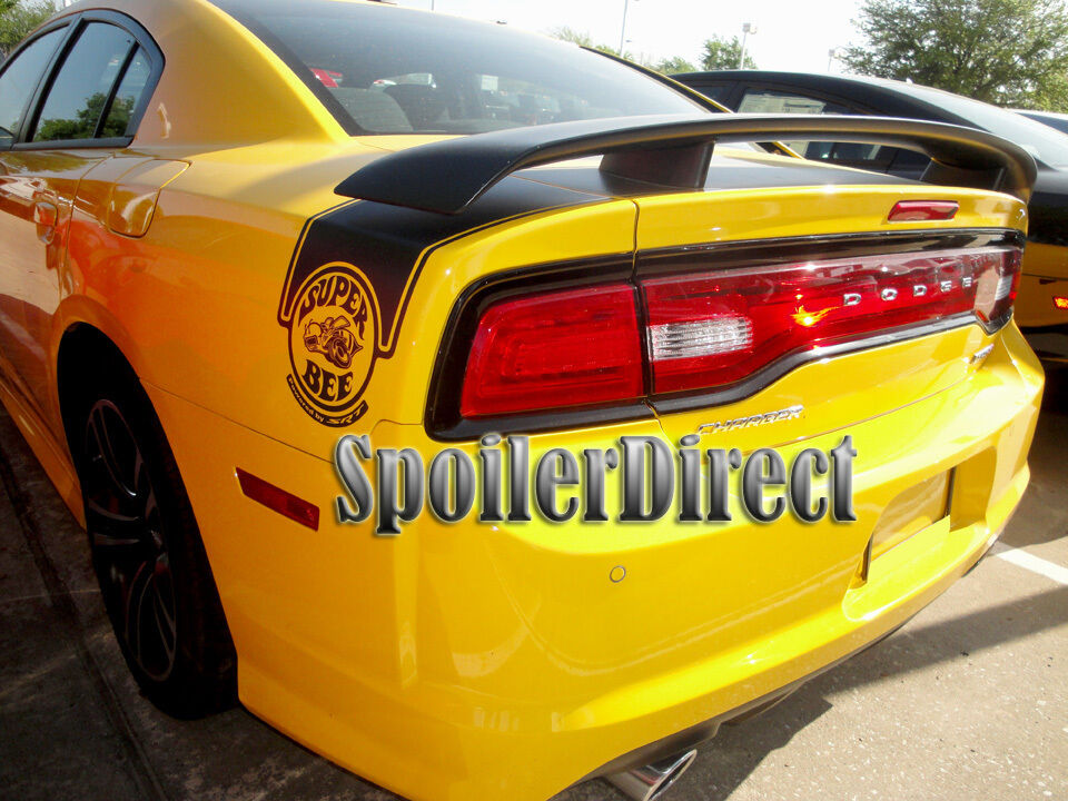 Details About 2017 2016 Dodge Charger Srt Srt8 Rear Spoiler Factory Super Bee Style Primer