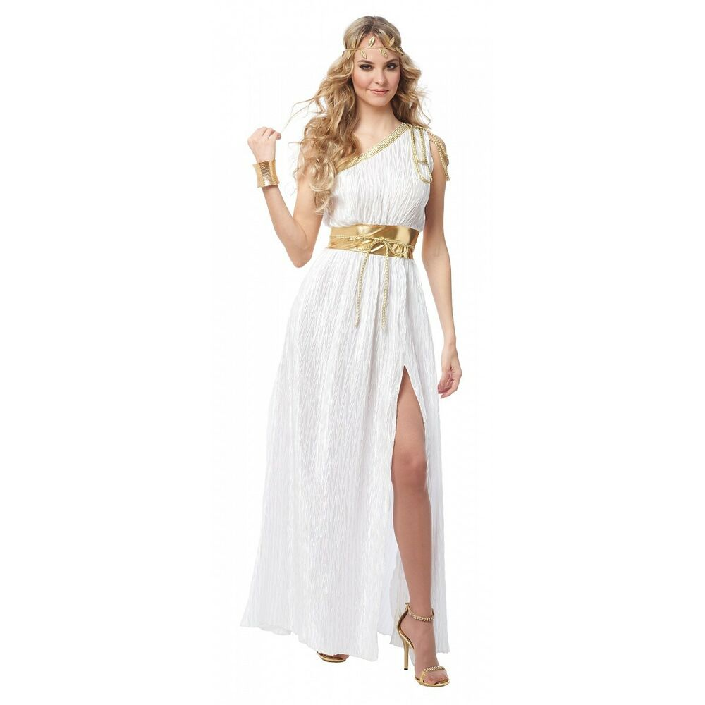 Greek Goddess Costume Adult Aphrodite Grecian Halloween ...