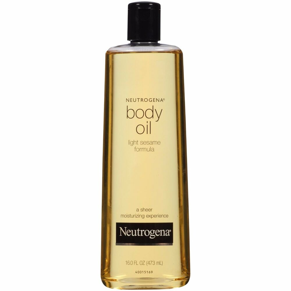 Neutrogena Body Oil Light Sesame Formula 8.5 Fl. Oz  | eBay