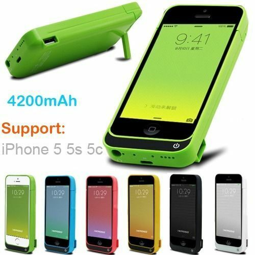 save battery on iphone 5s 4200mah external power bank charger pack backup battery 1563