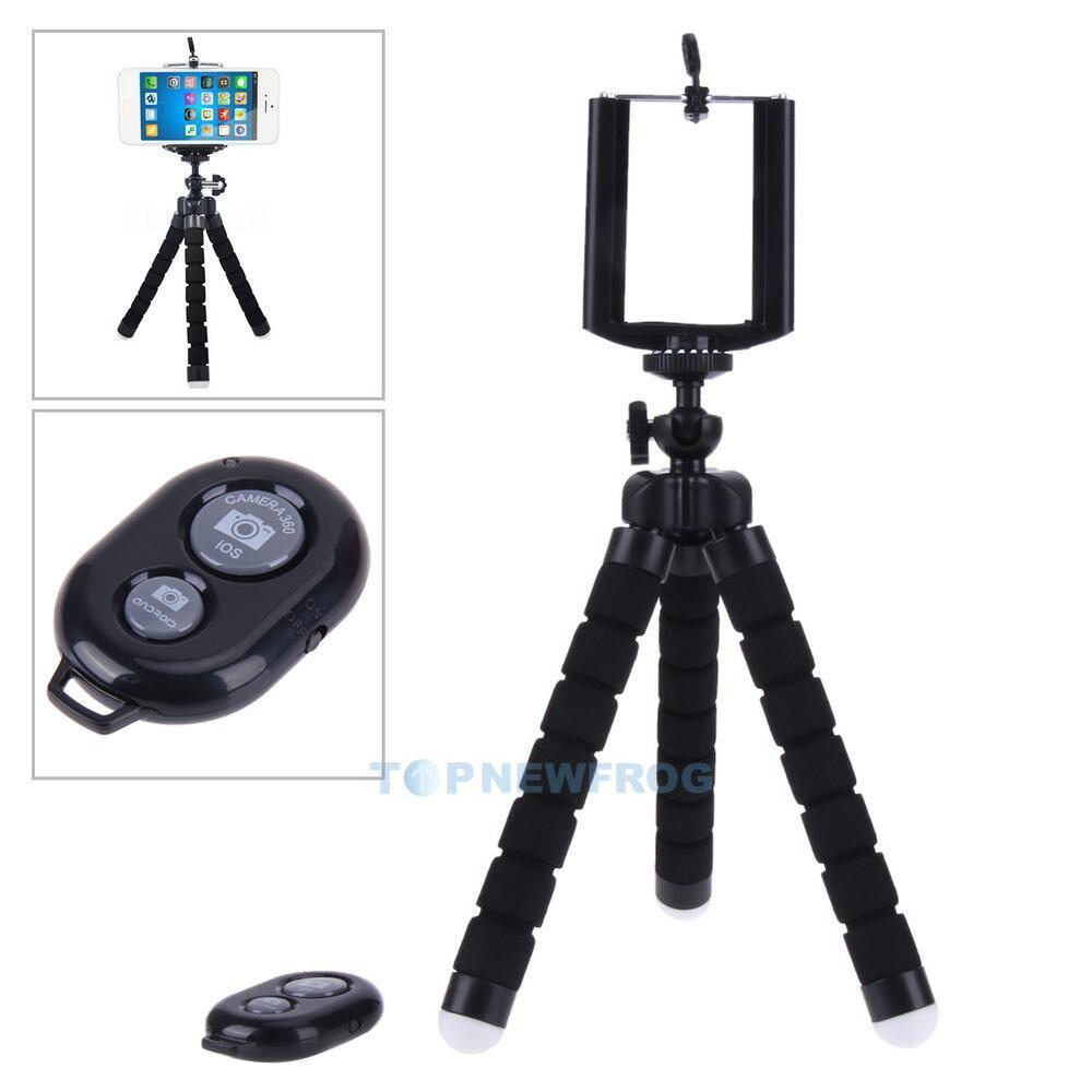 handy selfie stativ tripod halter f r ios und android. Black Bedroom Furniture Sets. Home Design Ideas