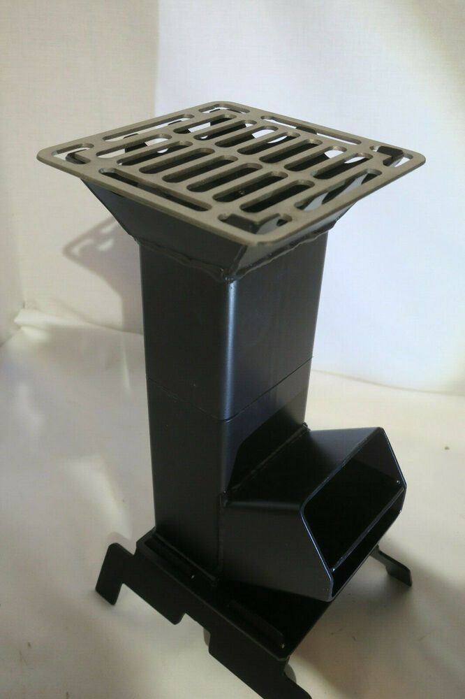 Shadrach V2 Portable Rocket Stove New Design For Ammo Can