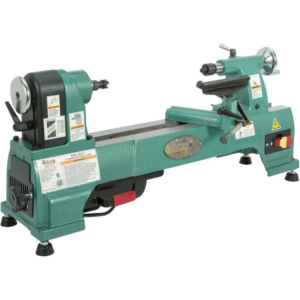 "G0624Z Grizzly 10"" Benchtop Wood Lathe"