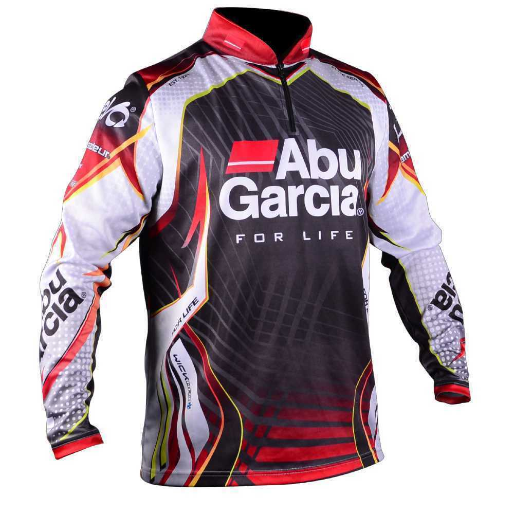 Abu Garcia Long Sleeve Pro Tournament Fishing Shirt Brand
