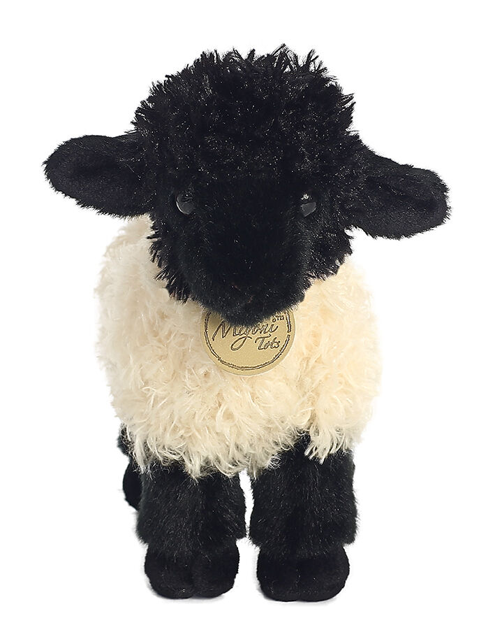 7 Suffolk Black And White Lamb Stuffed Animal Plush Aurora Au26254