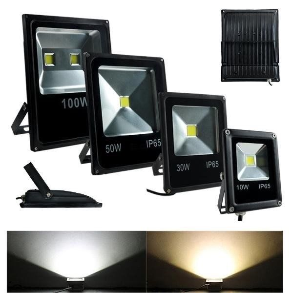 20w 30w 50w 100w 150w 200w led flood cool white rgb flood light ebay. Black Bedroom Furniture Sets. Home Design Ideas