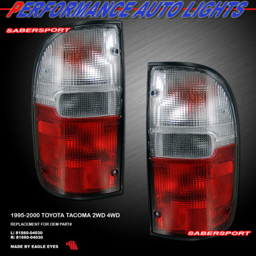 set-of-pair-red-clear-lens-oe-style-taillights-for-19952000-tacoma-2wd-4wd