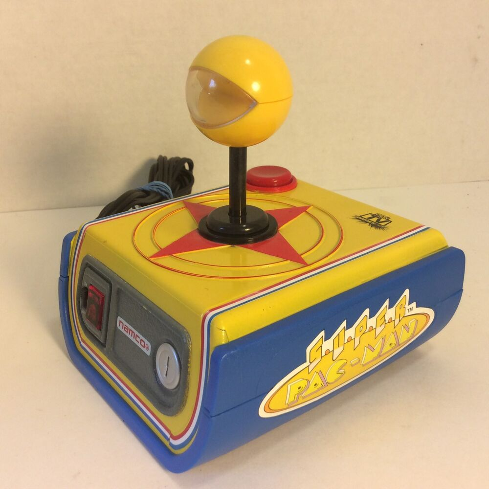 Tv Games Plug And Play : Namco super pac man in tv plug n play game tested