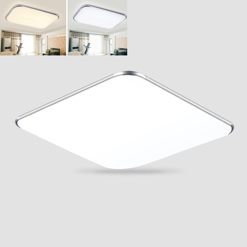 36w Dimmable Led Ceiling Down Light Bathroom Fitting: LED Ceiling Light Downlight Panel Lamp Chandelier Ultra