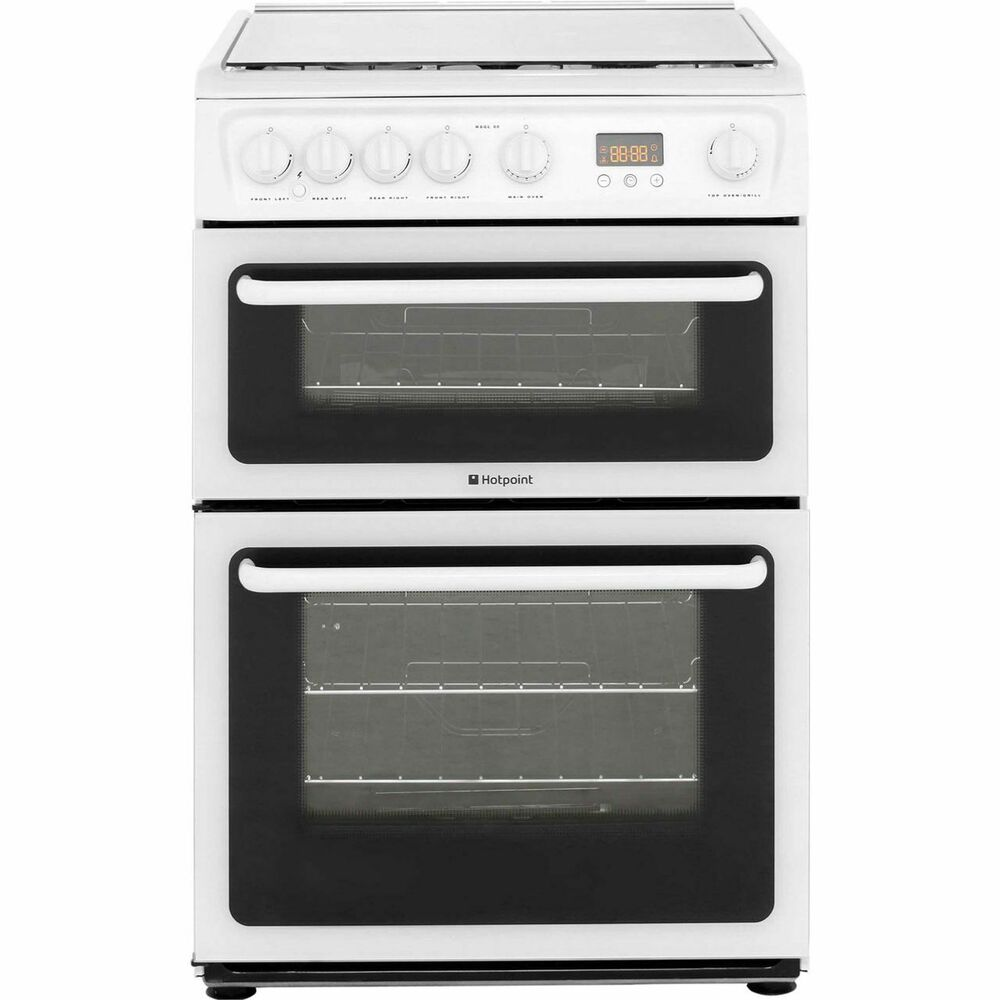 Hotpoint Hagl60p Free Standing Gas Cooker With Gas Hob