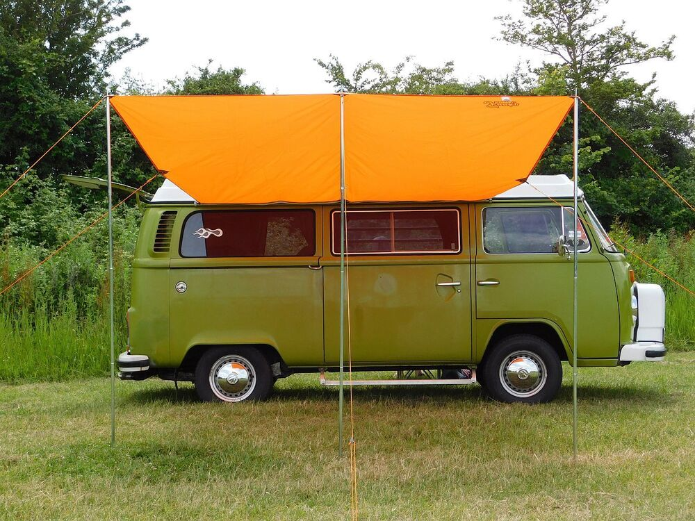 Debus VW Campervan Sun Canopy Awning + T2 T25 Connection ...