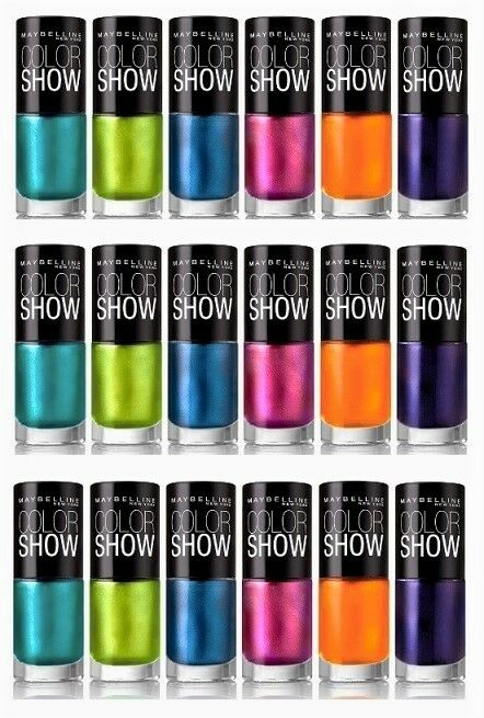 Maybelline Color Show Nail Polish Lacquer (CHOOSE YOUR