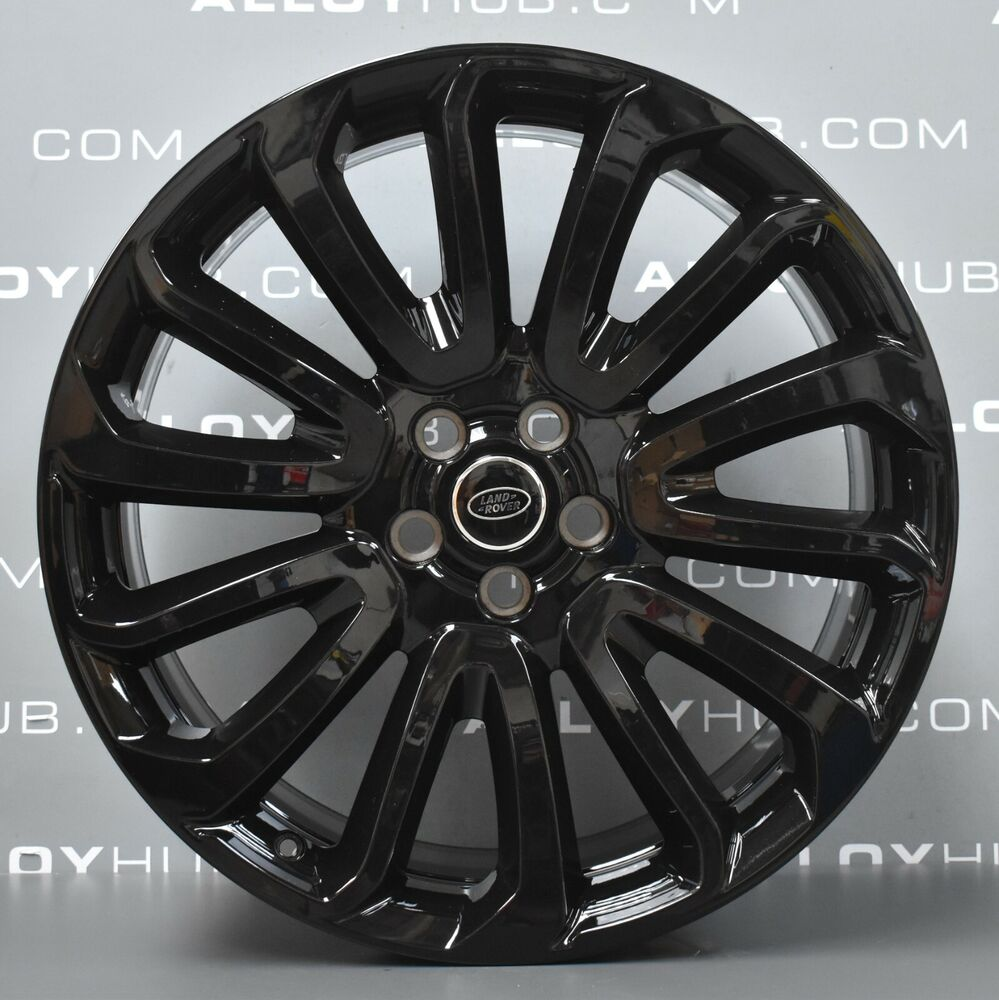 "Land Rover Discovery 2004 Landmark Edition: GENUINE LAND ROVER TURBINE BLACK 22"" STYLE 16 7007 ALLOY"