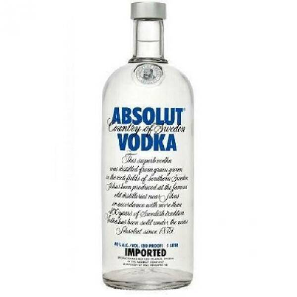 ABSOLUT VODKA CLASSICA 1 LITRO