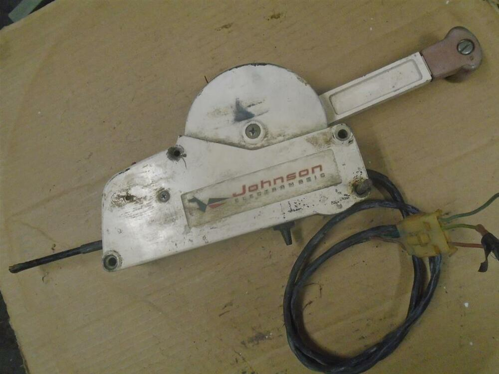 Electric Shift Control Box 3 Wire Switch  Fits Johnson