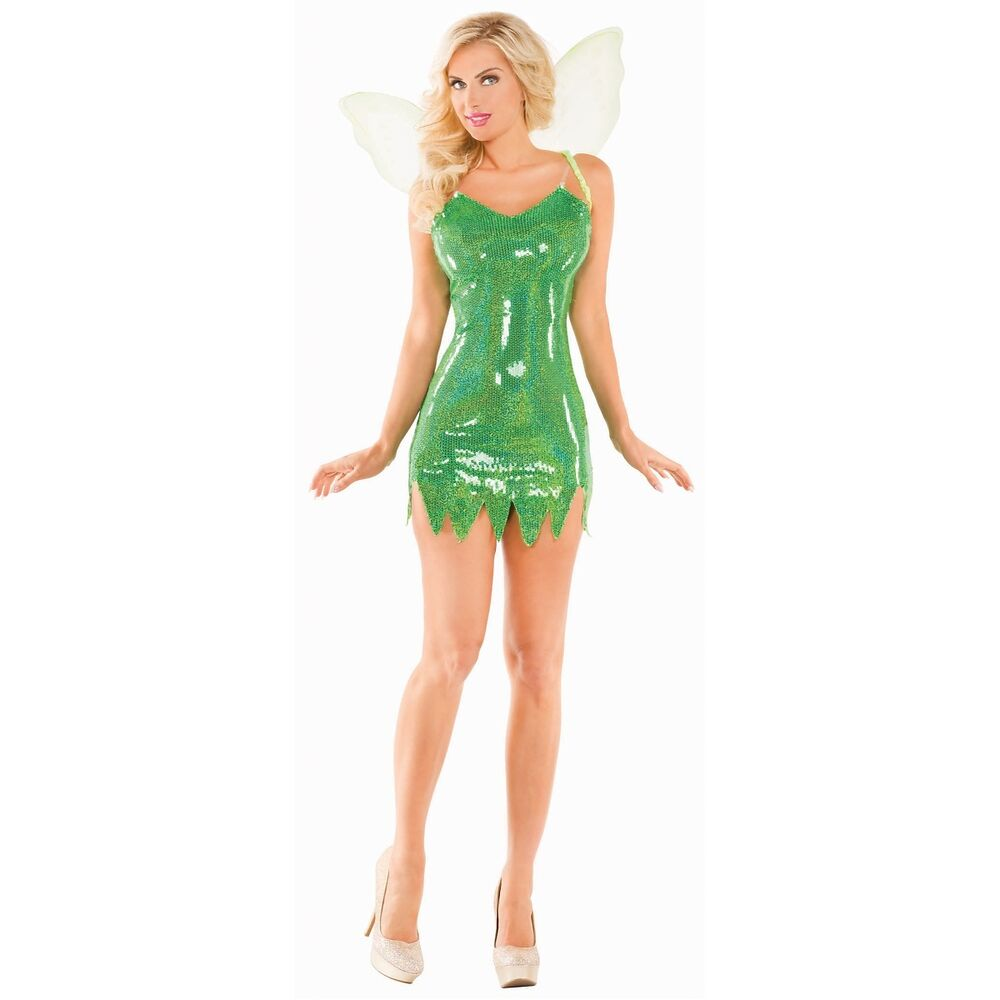 adult sexy tinkerbell costume