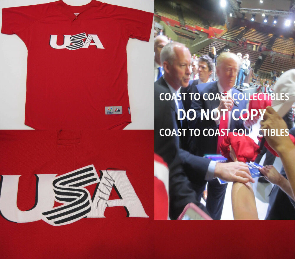 DONALD TRUMP,45TH UNITED STATES PRESIDENT,SIGNED ...