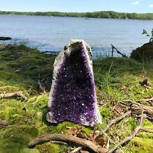 Amethyst Druze Crystal Cluster With Cut Base ~ EXTRA LARGE Size Specimen