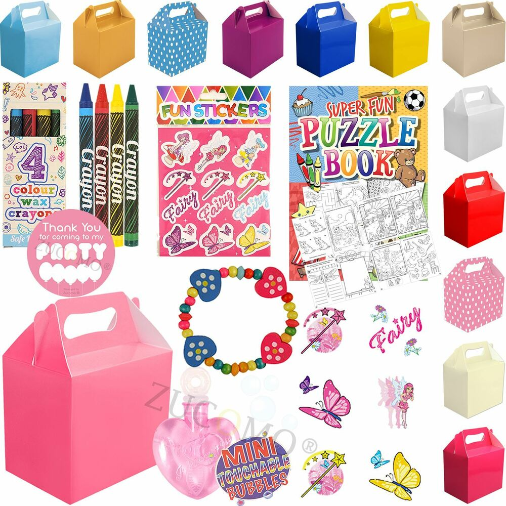 Pre Wedding Gift Ideas: Childrens Wedding Activity Packs Party Favour Gift Bags