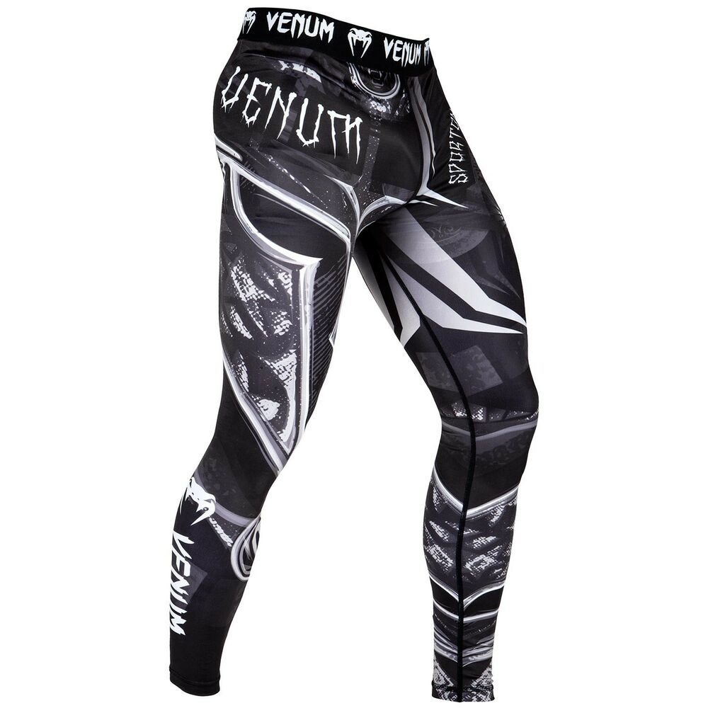 192145f466805 Details about Venum Gladiator 3.0 MMA Spats BJJ No-Gi Grappling Compression  Tights Gym Bottoms