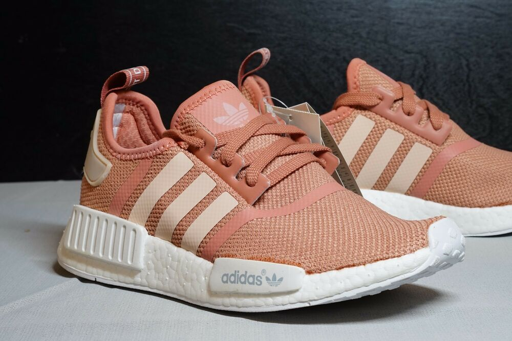 591c562cb8ef3 ADIDAS NMD R1 Raw Pink Rose Salmon Peach women shoes   USA SELLER ...