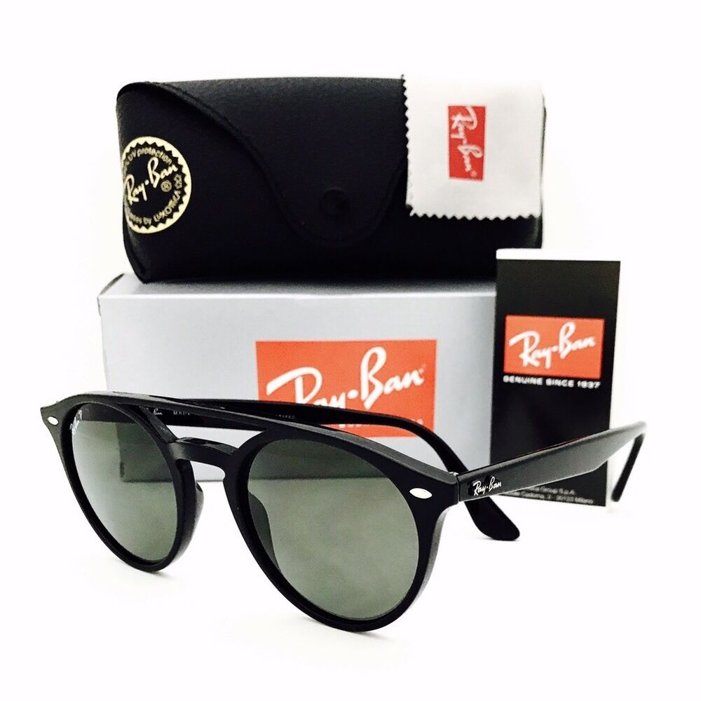 852232b4c8 Details about New Ray Ban Sunglasses RB 4279 601 9A Polarized Black  51•21•150 With Case