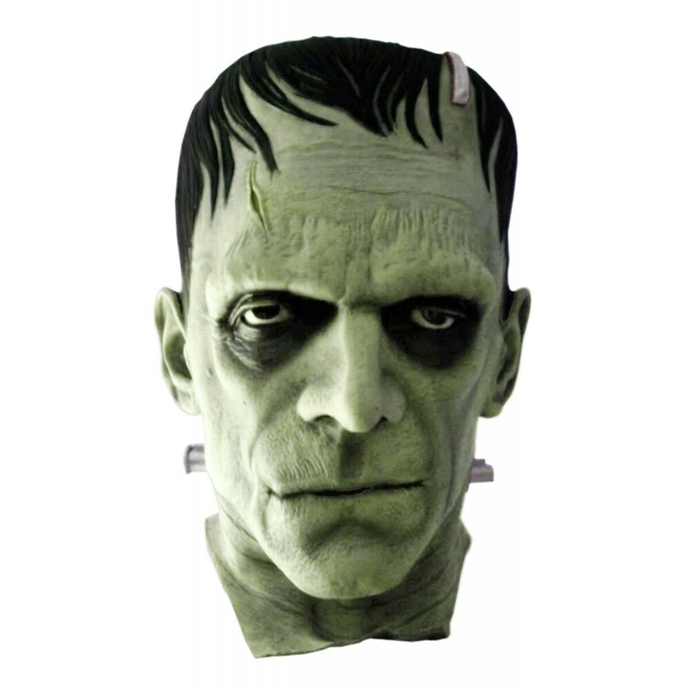 frankenstein mask adult halloween costume fancy dress ebay. Black Bedroom Furniture Sets. Home Design Ideas